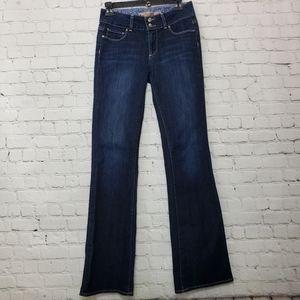 Anthropology Paige dark denim  jeans